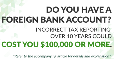 foreign bank accounts tax reporting