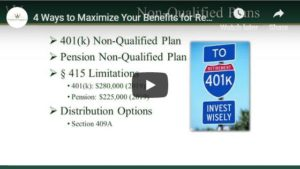 4 ways to maximize benefits webinar_ Willis Johnson & Associates