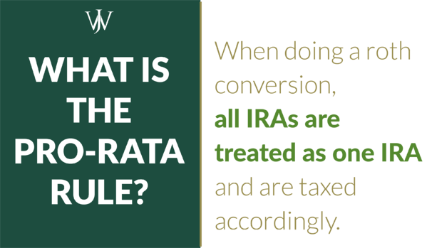 pro-rata rule for roth conversions